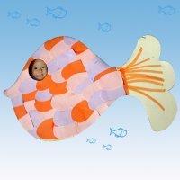Manualidades Día del Padre para niños. Marco de pez