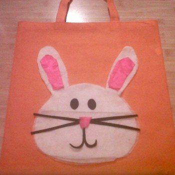 Bolsa de conejo de Pascua