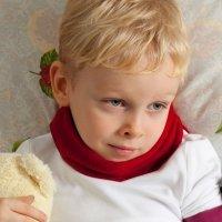 Niños y bebés con papera o parioditis