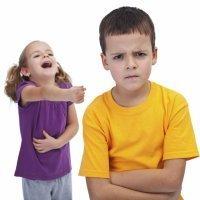 El agresor y la víctima del acoso escolar