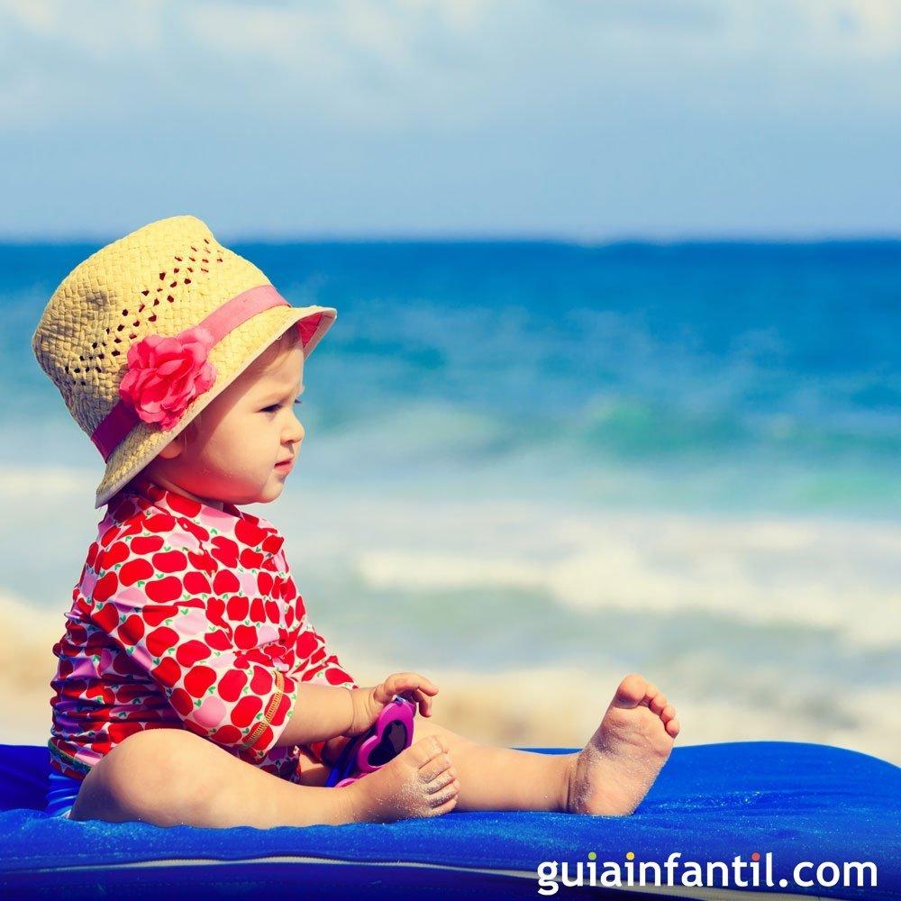 2bb277867 Bebés en la playa