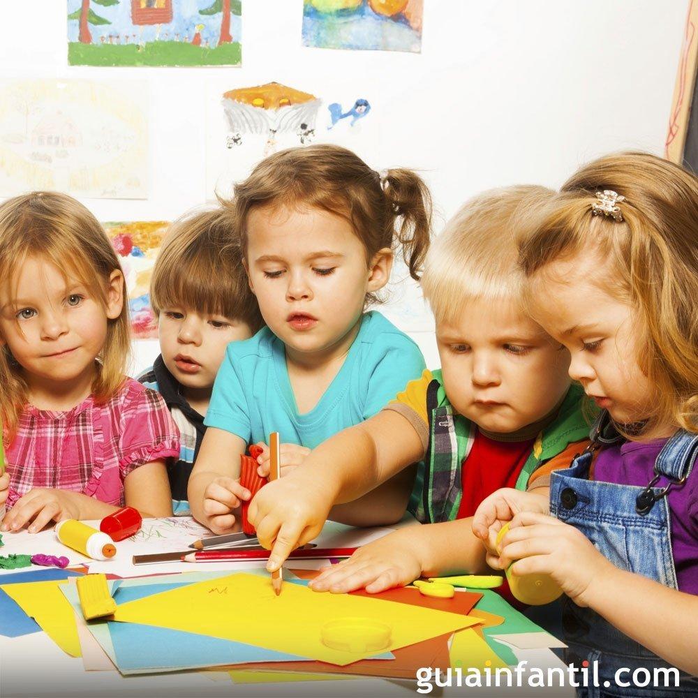 Adaptación de niños con 2 y 3 años a la escuela