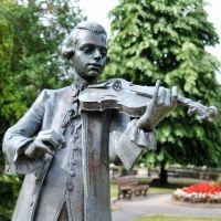 La vida de Mozart para niños