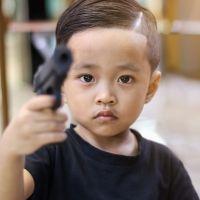 Los niños y las armas de fuego