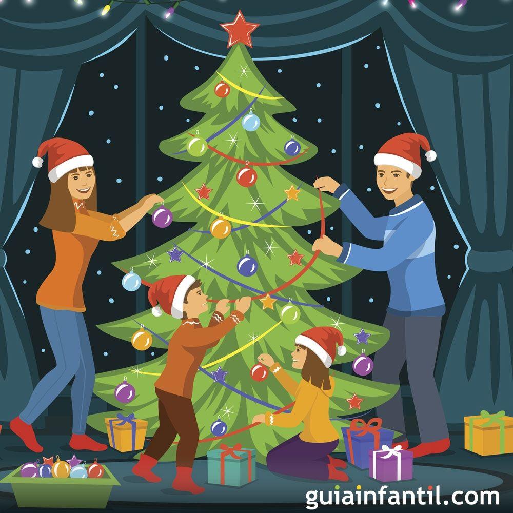 Historia del arbol de navidad cuento
