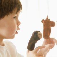 Marionetas para bebés y niños. Manualidades para niños