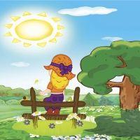 Cuento sobre el respeto. Itzelina y los rayos de sol