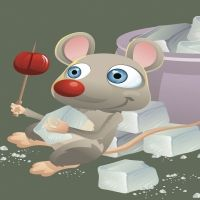 Cuento infantil. El ratón Enriqueto
