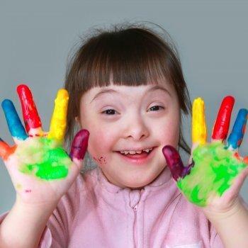 Estimular a niños con Síndrome de Down