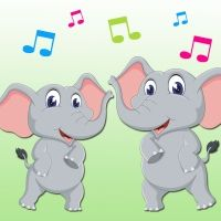 Elephants. I like elephants. Canción infantil en inglés