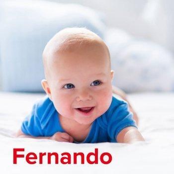 Fernando: dibujos de los nombres para colorear, pintar e imprimir