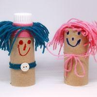 Manualidades de reciclaje para niños con rollos de papel