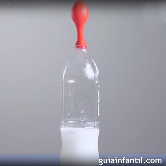 Como Inflar Un Globo Con Levadura Y Azucar Experimento Para Ninos - Experimentos-para-nios-con-globos