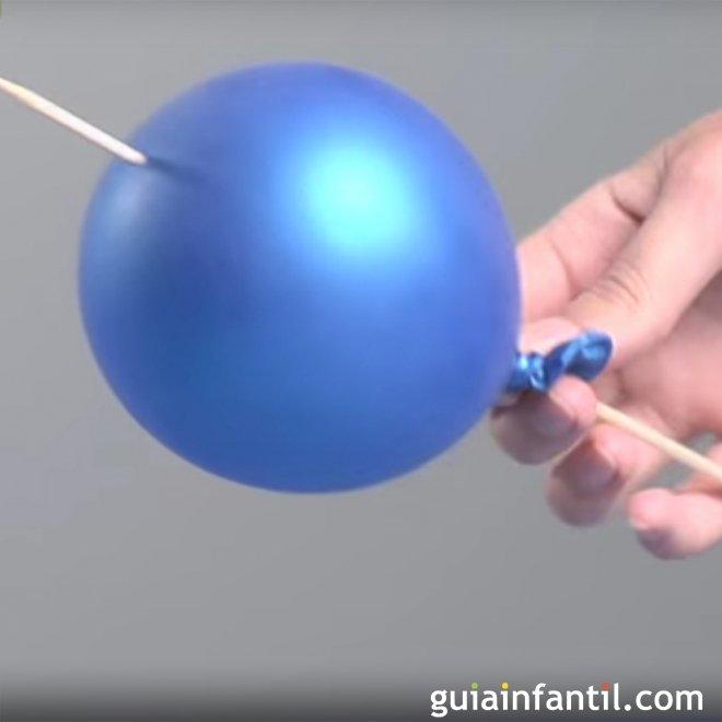 Como Atravesar Un Globo Sin Que Explote Experimento Para Ninos - Experimentos-para-nios-con-globos
