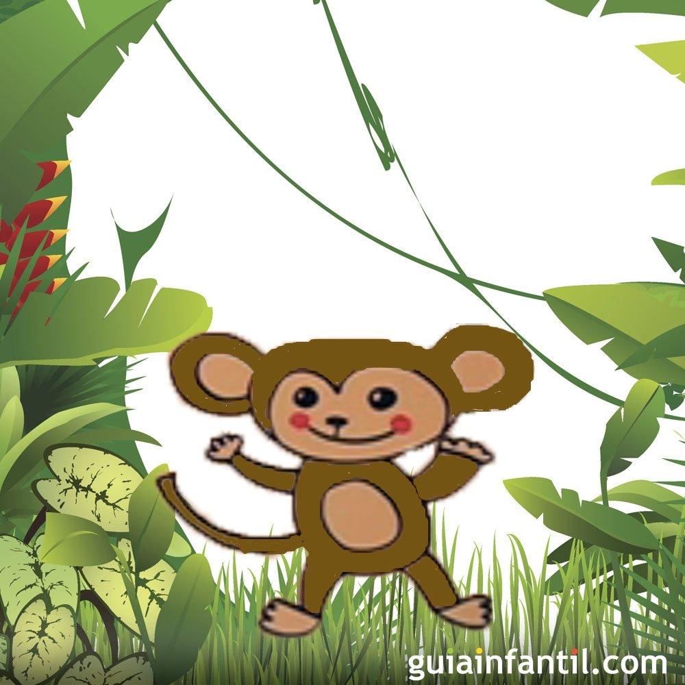 Cómo hacer un dibujo de un mono paso a paso