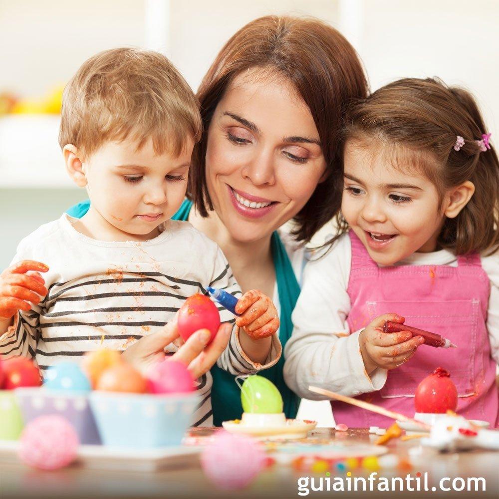 12 ideas para celebrar la Pascua con los niños