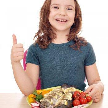 El pescado y los niños. Beneficios y riesgos