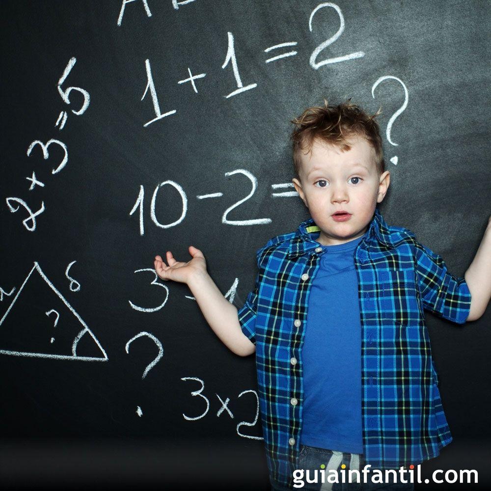 Ejercicios de matemáticas para niños de 6 años. Sumas y restas