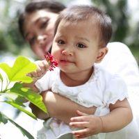 El sentido del olfato en bebés