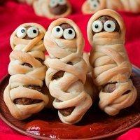 Recetas divertidas de momias para Halloween