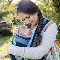 Portabebés. Diferentes sistemas de llevar al bebé en brazos