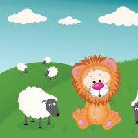 El león que se creía cordero. Cuento corto para niños