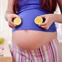 Cómo usar el limón durante el embarazo