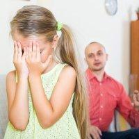 El miedo de los niños a las regañinas de sus padres