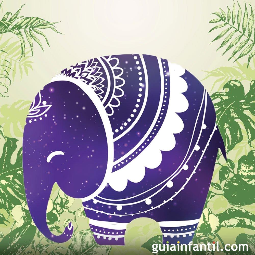 La Verdad Del Elefante Leyenda Hindú Para Niños