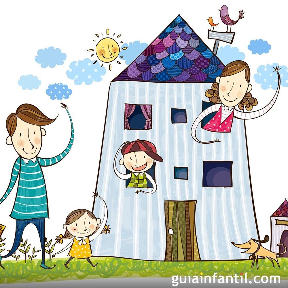 libros infantiles que hablen de la familia