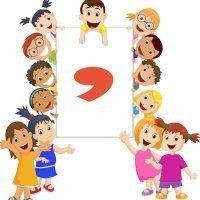 La coma. Poema corto para los niños