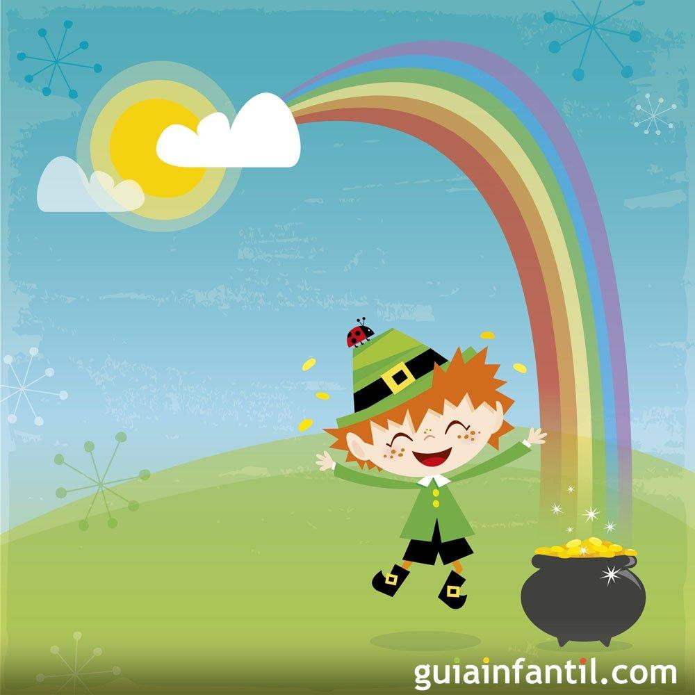 La leyenda del duende del arcoíris. Leyenda corta para niños