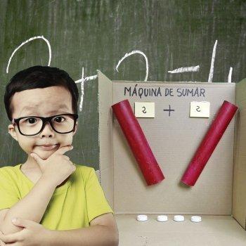 Máquina para enseñar a sumar a los niños