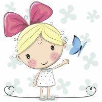 La mariposa azul. Leyenda oriental para niños