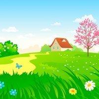 Doña Primavera. Poemas cortos infantiles