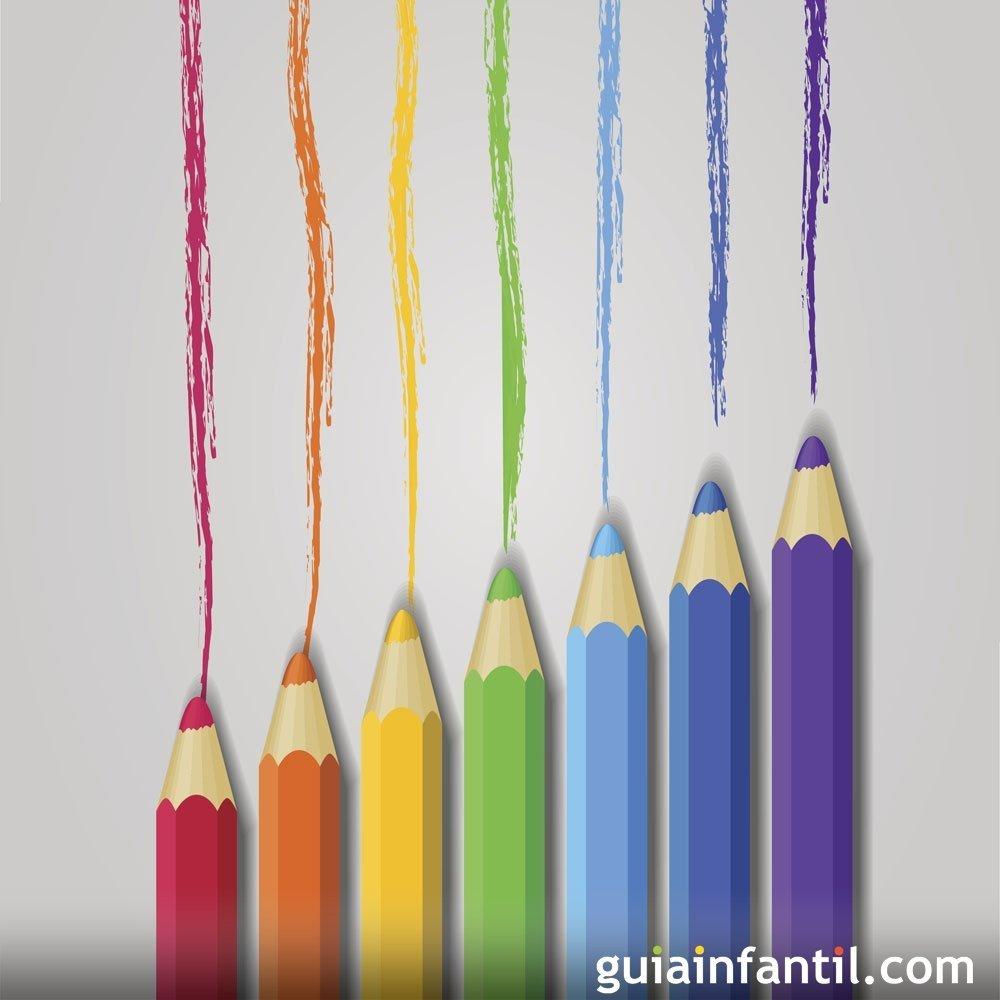 La disputa de los colores. Cuento para niños