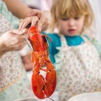 Beneficios y peligros del marisco para los niños