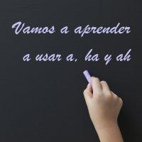 Cómo enseñar a los niños a escribir a, ha y ah