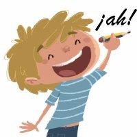 A, ha y ah. Poema didáctico para niños