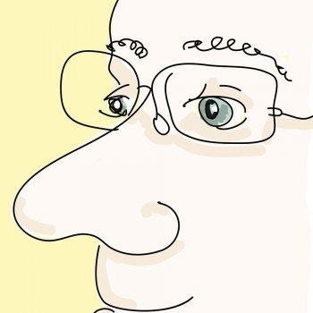 La nariz y los ojos