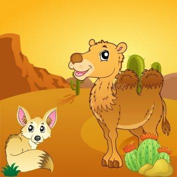 El zorro y el camello