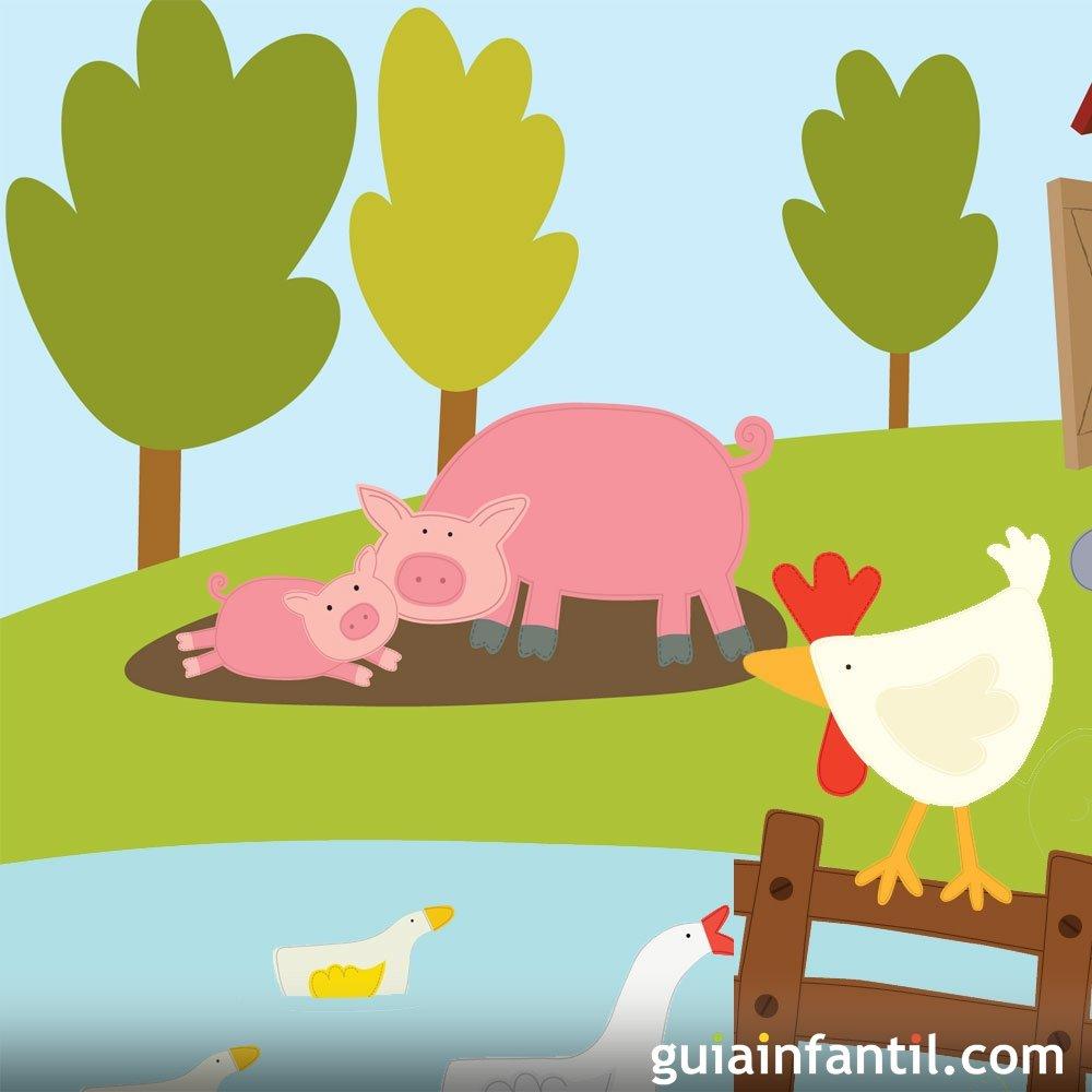 La gallina y el cerdo. Fábulas sobre la gratitud