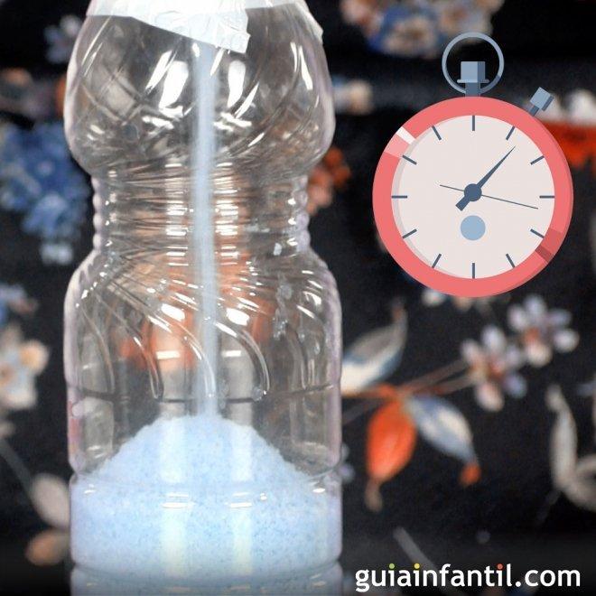 Reloj De Arena Con Botellas De Plástico Manualidad Para Niños