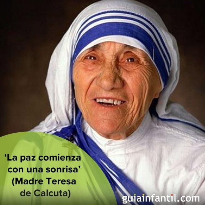10 Frases De La Madre Teresa De Calcuta Para Los Ninos