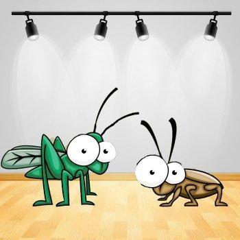 La cucaracha y el grillo