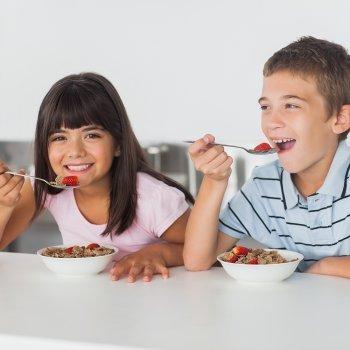 Menú para niños de 6 a 12 años