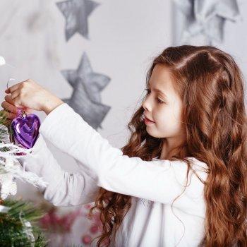 Diez ideas de peinados para niñas en Navidad