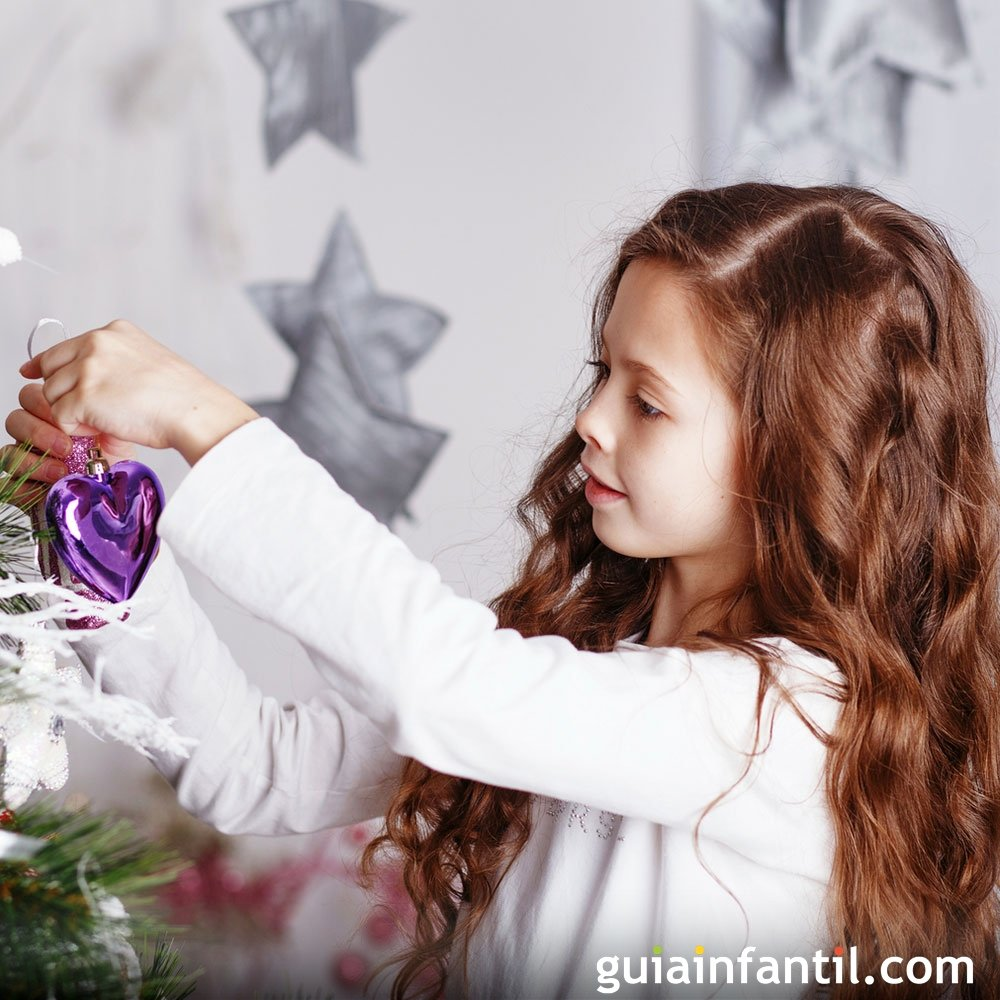 Diez Ideas De Peinados Para Ninas En Navidad