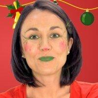 Maquillaje de Elfo. Disfraz de Navidad para niños