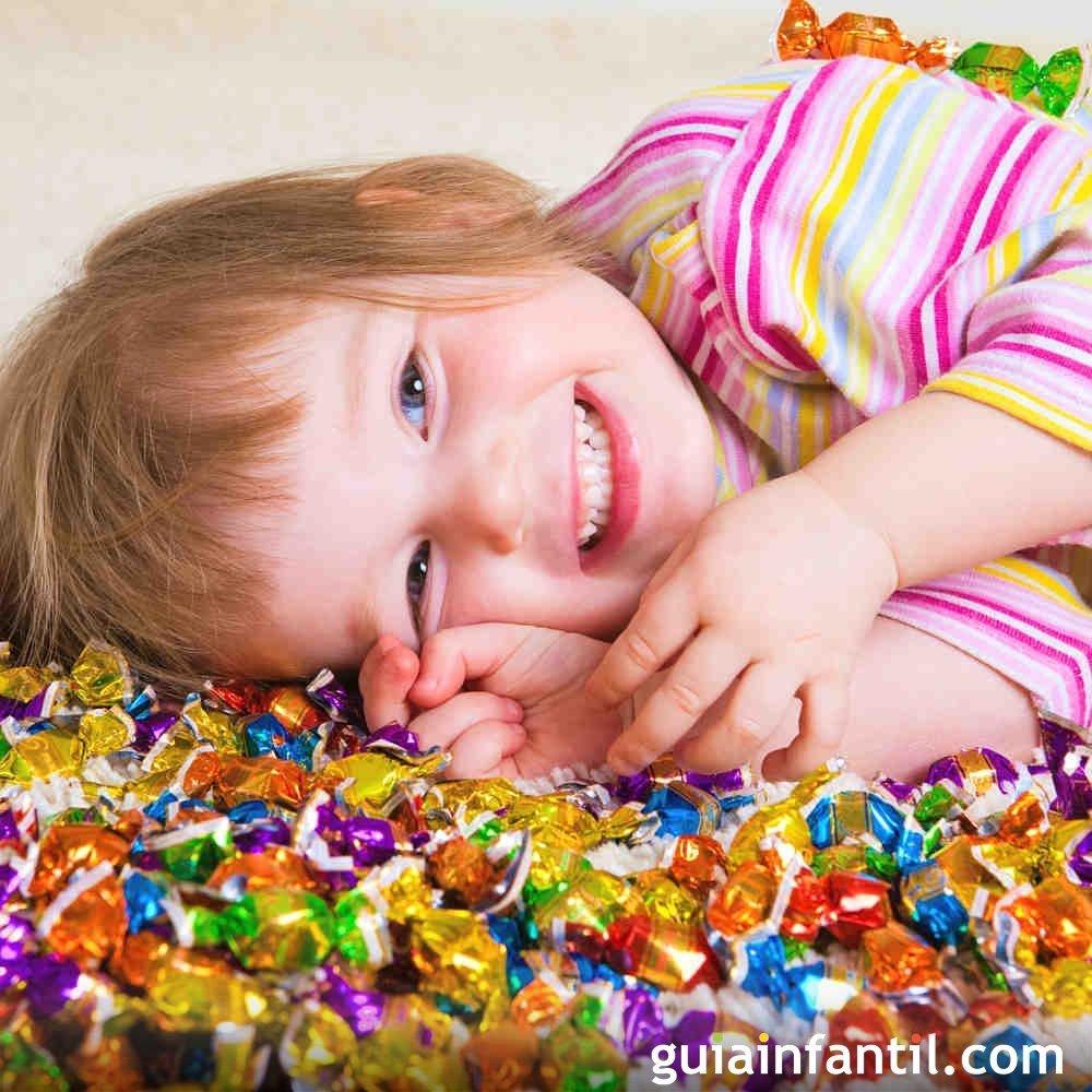 Cómo afectan los dulces a los niños